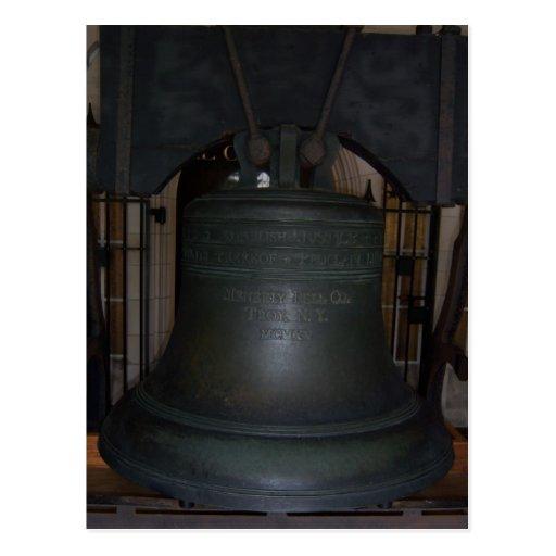 Postal de Bell de la justicia