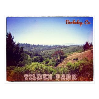 Postal de Berkeley del parque de Tilden