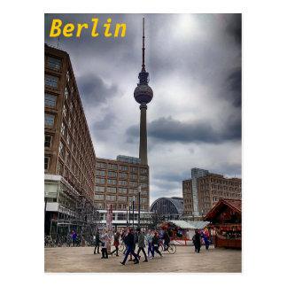 Postal de Berlín Alexanderplatz Fernsehturm