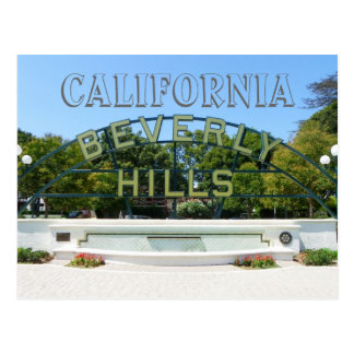 ¡Postal de Beverly Hills!