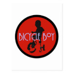 Postal de Bicycleboy