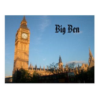 Postal de Big Ben