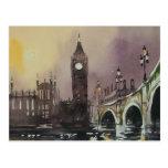 Postal de Big Ben Londres Inglaterra