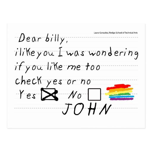 Postal de Billy