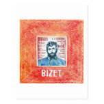 Postal de Bizet