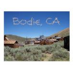Postal de Bodie California