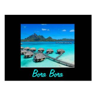 Postal de Bora Bora