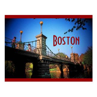 Postal de Boston