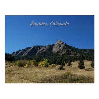 Postal de Boulder Colorado