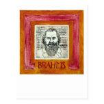 Postal de Brahms