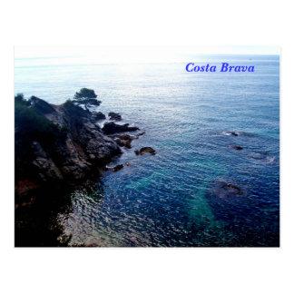 Postal de Brava de la costa
