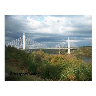 Postal de Bucksport Maine