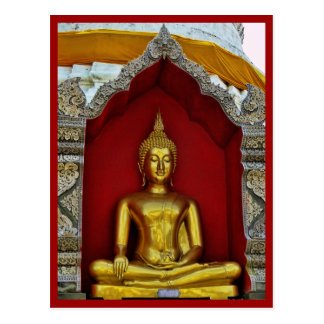 Postal de Buda del oro
