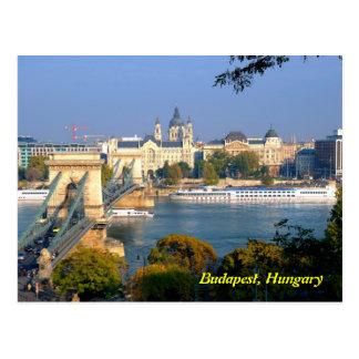 postal de Budapest, Hungría
