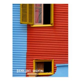 Postal de Buenos Aires la Argentina