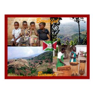 Postal de Burundi