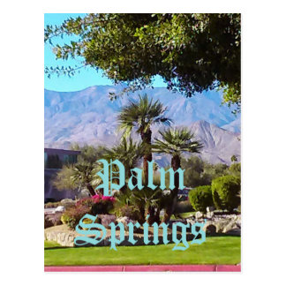 Postal de California del Palm Springs