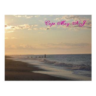 Postal de Cape May Lowtide