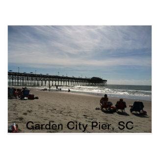 Postal de Carolina del Sur de la ciudad jardín