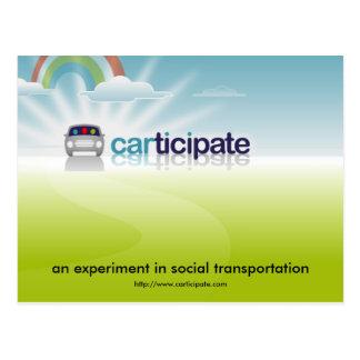 Postal de Carticipate - modificada para requisitos