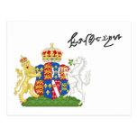 Postal de Catherine Howard