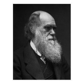 Postal de Charles Darwin