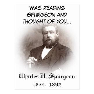 Postal de Charles Haddon Spurgeon