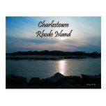 Postal de Charlestown Rhode Island
