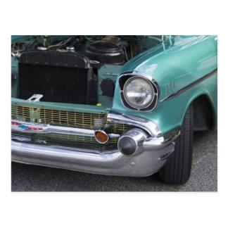 Postal de Chevy de la verde menta