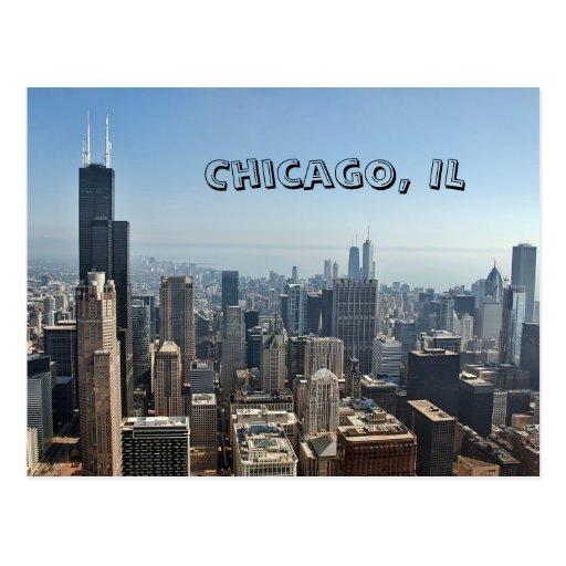 Postal de Chicago, IL