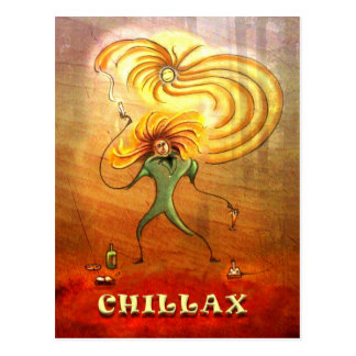 "Postal de ""Chillax"""