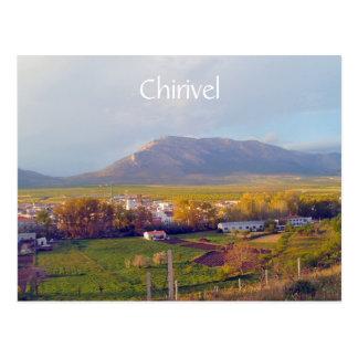 Postal de Chirivel, Almería, Andalucía, España