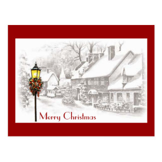 Postal de ChristmasTown del vintage