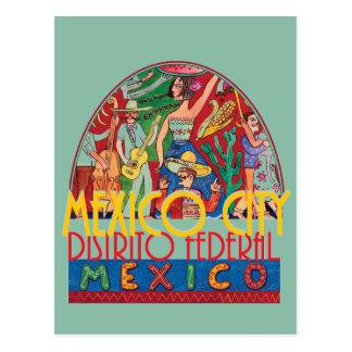 Postal de CIUDAD DE MÉXICO México