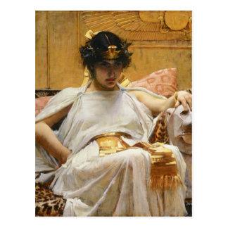 Postal de Cleopatra del Waterhouse