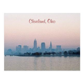 Postal de Cleveland de la tarde