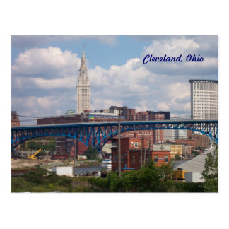 Postal de Cleveland soleada, Ohio