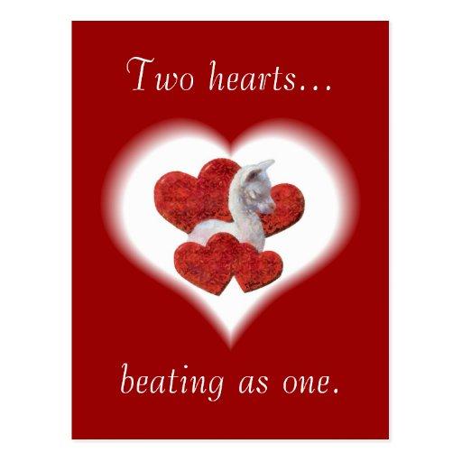 Postal de Cria de la tarjeta del día de San Valent