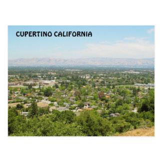 Postal de Cupertino California