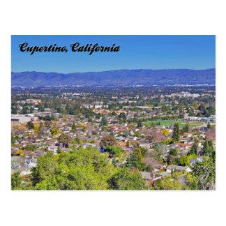 Postal de Cupertino, California