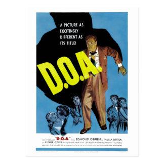"""Postal de """"D.O.A."""""""