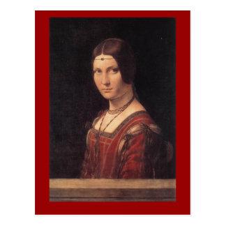 postal de da Vinci