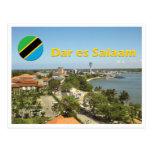 Postal de Dar es Salaam - de Tanzania