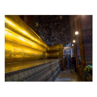 Postal de descanso de los pies de Buda