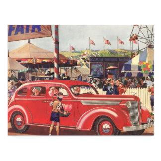 postal de Desoto de los años 40