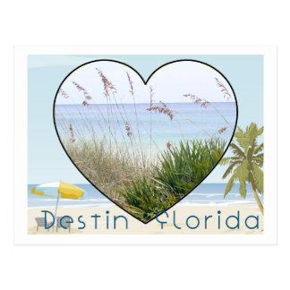Postal de Destin la Florida