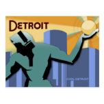 Postal de Detroit