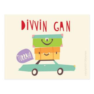 Postal de Divvin Gan Northumbrian