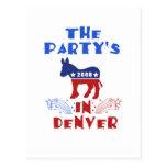 Postal de DNC Denver
