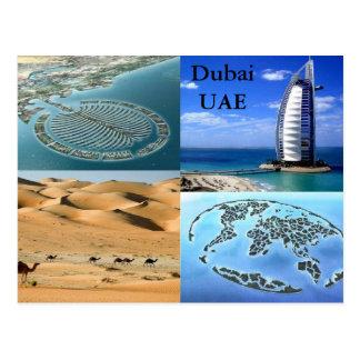 Postal de Dubai UAE